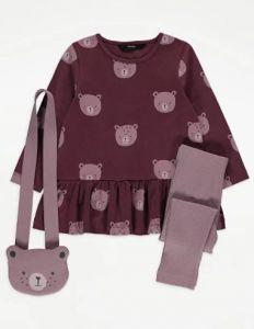 Комплект з сумочкою для дівчинки
