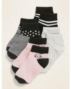 Набір шкарпеток для дівчинки (4 пари)