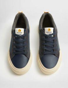 Комбіновані кросівки з вставками з натуральної шкіри