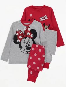 "Піжама для дiвчинки 1шт. ""Minnie Mouse"" (сіра)"