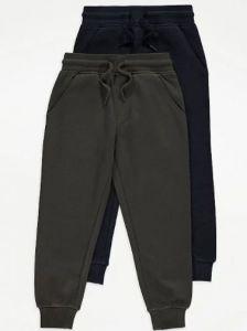 Спортивні штани з флісовою байкою 1 шт. (хакі)