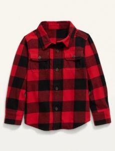 Фланелева сорочка для хлопчика