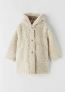 Пальто зі штучної овчини