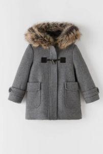 Пальто з вмістом вовни для дівчинки