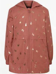 Вітрівка-дощовик на флісовій підкладці для дівчинки