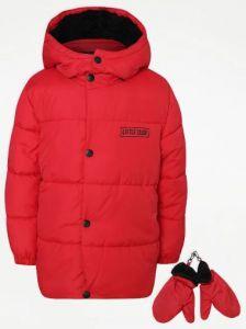 Куртка с флисовой подкладкой и силиконовым наполнителем от George