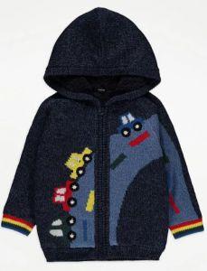 Тепле худі-светр з цупкою плюшевою підкладкою для хлопчика