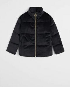Оксамитова курточка з поліестеровою підкладкою всередині