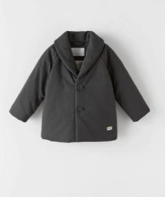 Пальто з комірцем на запах для хлопчика