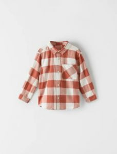 Стильна, бавовняна сорочка для хлопчика