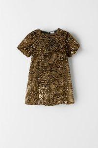 Плаття з паєтками від ZARA