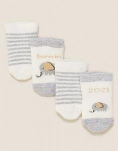 Набір шкарпеток з махровою ниткою всередині (2 пари)