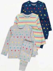 Трикотажна піжама для дитини 1шт. (в смужку)