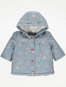Демісезонна куртка з плюшевою підкладкою для дівчинки