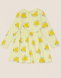 Трикотажне плаття для дівчинки