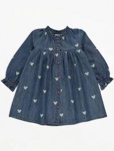 """Джинсове плаття """"Mickey Mouse"""" для дівчинки"""