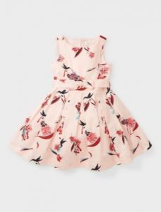 Святкова сукня з принтом для дівчинки