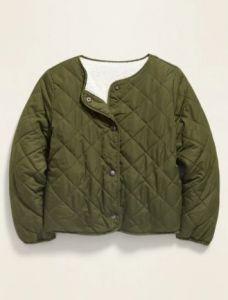 Двостороння куртка з шерпою для дівчинки