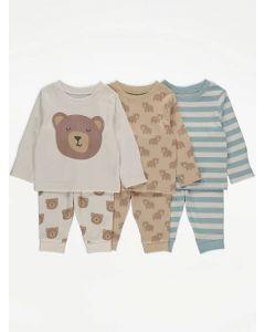 Набір піжам для дитини (3 шт.)