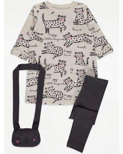 Комплект-трійка з сумочкою для дівчинки