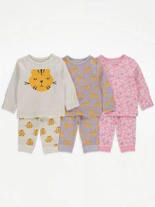 Набір піжам для дівчинки (3 шт.)