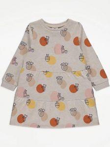 """Плаття з легкою флісовою байкою всередині """"Winnie the Pooh"""""""