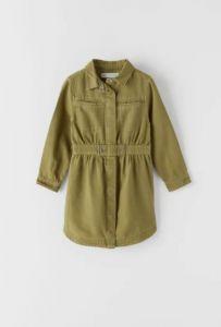 Сукня-сорочка з органічної бавовни для дівчинки