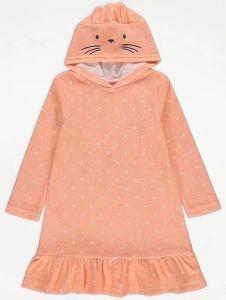Махрове плаття-рушник для дівчинки