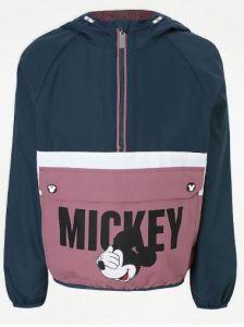 """Легка вітрівка """"Mickey Mouse"""" для дівчинки від George"""