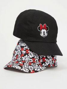"Стильна кепка ""Minnie Mouse"" для дівчинки 1шт. (чорна)"