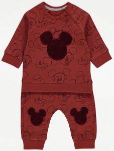 """Комплект-двійка """"Mickey Mouse"""" з легкою флісовою байкою всередині"""