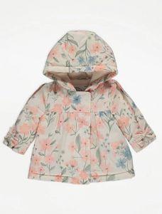 Демісезонна куртка з флісовою підкладкою для дівчинки