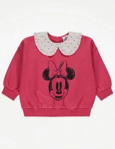 """Світшот з комірцем для дівчинки """"Minnie Mouse"""""""
