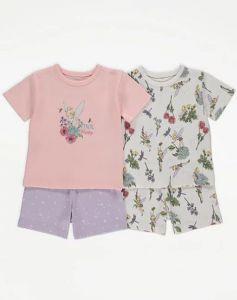 """Набір піжам у тематичному стилі """"Tinker Bell"""" для дівчинки 2 шт."""