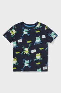 Трикотажна футболка для хлопчика з органічної бавовни