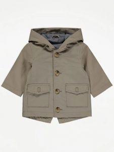 Легка, подовжена куртка з капюшоном для дитини