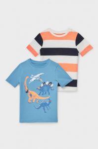 Трикотажна футболка для хлопчика 1шт. (блакитна)
