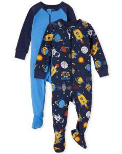 Чоловічок з закритими стопами для дитини 1шт.(блакитний)