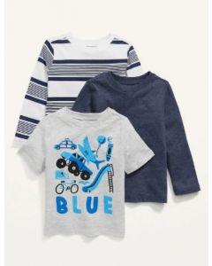 Набір з двох регланів і футболки для хлопчика