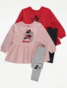 """Комплект-двійка для дівчинки """"Mickey Mouse"""" 1 шт. (червоний)"""