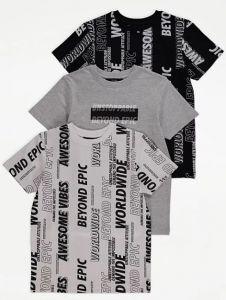 Набір футболок для хлопчика (3 шт.) від George
