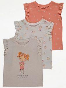 Набір футболок (3 шт.) для дівчинки
