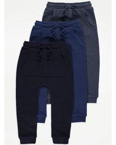 Спортивні штани на флісі від George 1 шт. (темно-сині)
