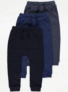 Спортивні штани на флісі від George 1 шт. (сині)