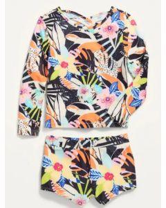 Купальний костюм для дівчинки з UPF 50+