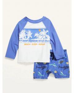 Купальний костюм для дитини з UPF 50+