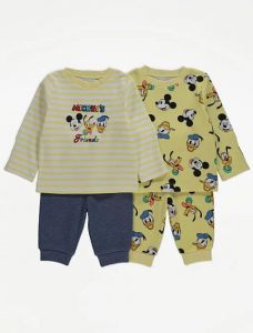 Набір піжам Disney Mickey's Friends для дитини 2 шт.