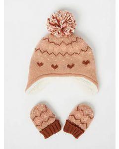 Комплект (шапка+рукавички) для дитини