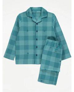 Подарункова фланелева піжама для хлопчика