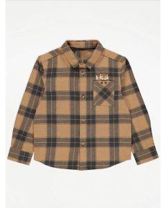 Коттонова сорочка для хлопчика